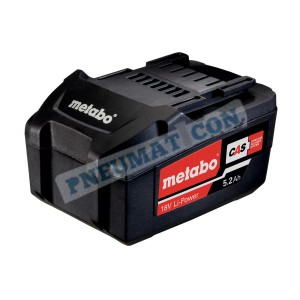 Akumulator Metabo 18V / 5,2 Ah, Li-Power