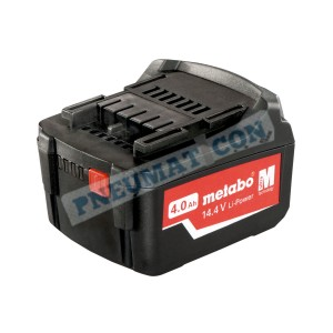 Akumulator Metabo 14,4 V / 4,0 Ah, Li-Power