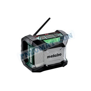 Radio akumulatorowe Metabo na budowę R 12-18 Bluetooth