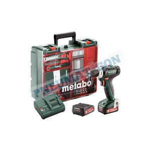 Wiertarko-wkrętarka Metabo POWERMAXX BS 12 SET